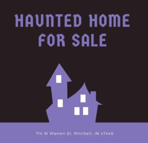 Haunted Victorian home for sale